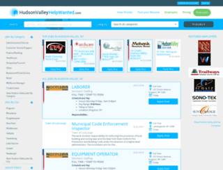 hudsonvalleyhelpwanted.com screenshot