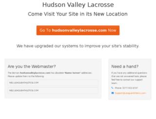 hudsonvalleylacrosse.com screenshot