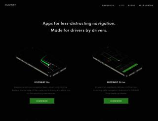 hudwayapp.com screenshot