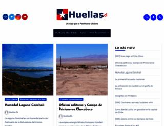 huellas.cl screenshot