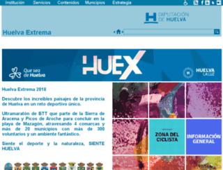 huelvaextrema.com screenshot