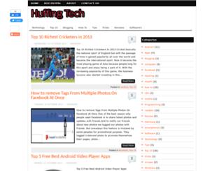 huffingtech.blogspot.com screenshot
