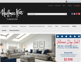 huffmankoos.com screenshot