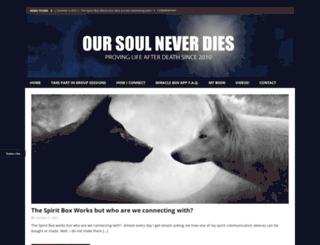huffparanormal.com screenshot