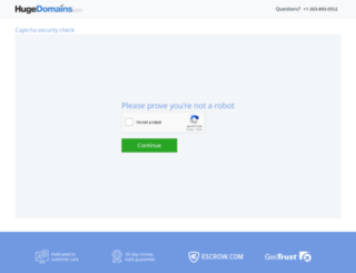 hugedomains.com screenshot