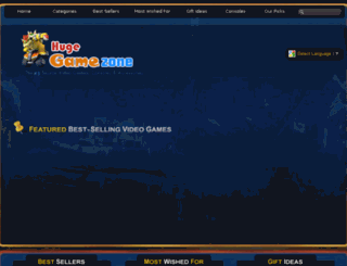 hugegamezone.com screenshot
