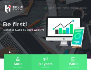 hugesofttech.com screenshot