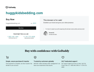 huggykidsbedding.com screenshot
