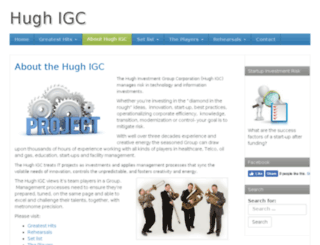hugh-igc.com screenshot