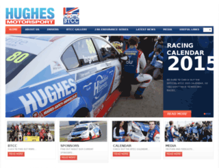hughesmotorsport.co.uk screenshot