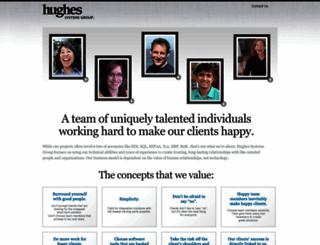 hughessg.com screenshot