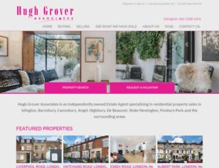 hughgrover.co.uk screenshot