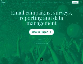 hugo.events screenshot