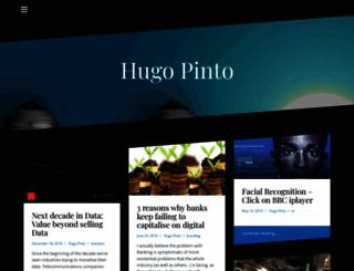 hugomcpinto.com screenshot