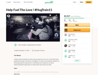 hugtrain.org screenshot