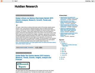 huidian-research.blogspot.com screenshot