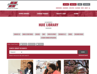 huie.hsu.edu screenshot
