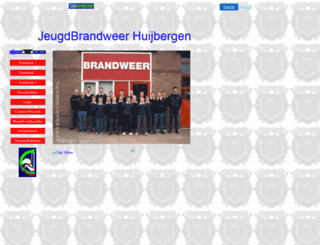 huijbergen.brandweer.net screenshot