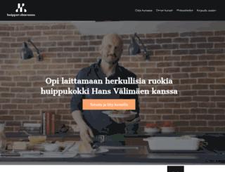 huippuvalmennus.fi screenshot