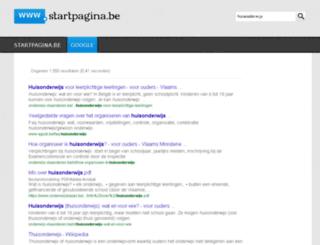 huisonderwijs.startpagina.be screenshot