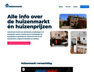 huizenmarkt.nl screenshot