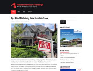 huizenverhuurfrankrijk.com screenshot