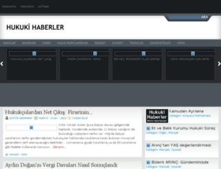 hukukihaberler.com screenshot