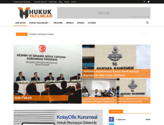 hukukyazilimlari.com screenshot