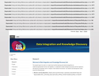 hulab.ucf.edu screenshot
