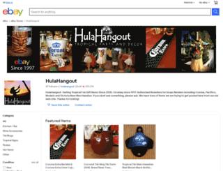 hulahangout.com screenshot