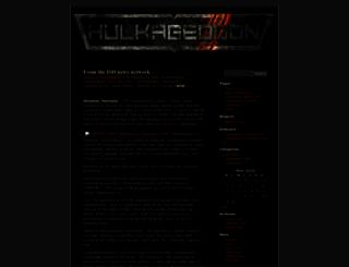 hulkageddon.wordpress.com screenshot
