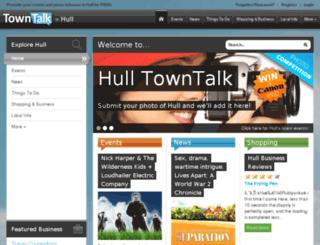 hull.towntalk.co.uk screenshot