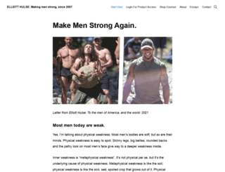 hulsestrength.com screenshot