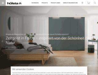 hulsta.com screenshot