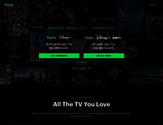 hulu.com screenshot