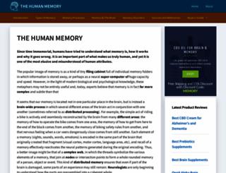 human-memory.net screenshot
