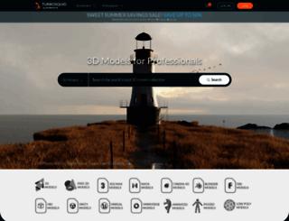 human.turbosquid.com screenshot