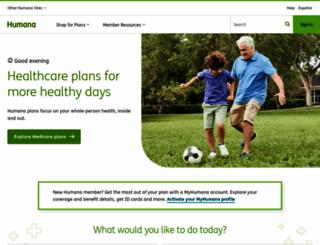 humana.com screenshot