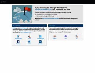 humanaweb.com screenshot