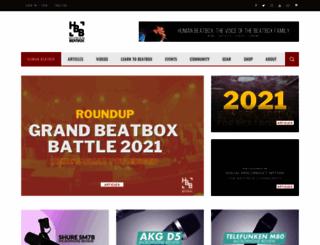 humanbeatbox.com screenshot