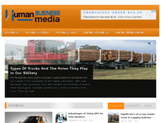 humanbusinessmedia.com screenshot