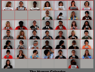 humancalendar.com screenshot