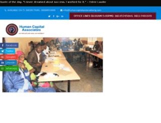 humancapitalassociatesng.com screenshot