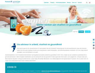 humancapitalcare.nl screenshot