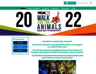 humanebroward.donordrive.com screenshot