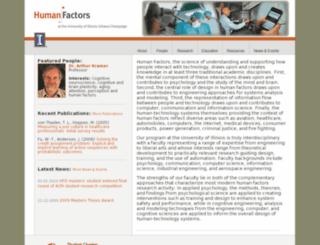 humanfactors.illinois.edu screenshot