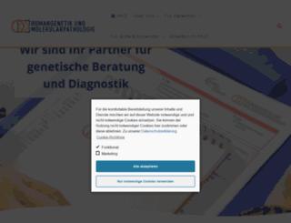 humangenetik-rostock.de screenshot