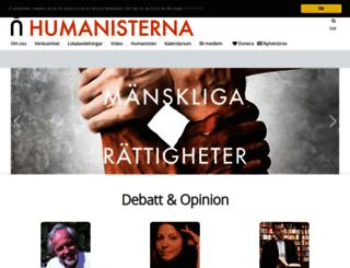 humanisterna.se screenshot
