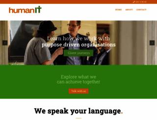 humanit.com.au screenshot