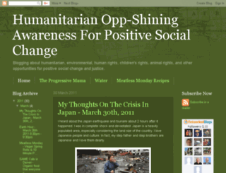 humanitarianopp.blogspot.com screenshot